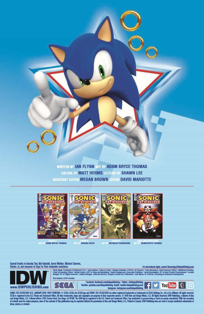 Sonic_13-pr-2 ComicList Previews: SONIC THE HEDGEHOG #13