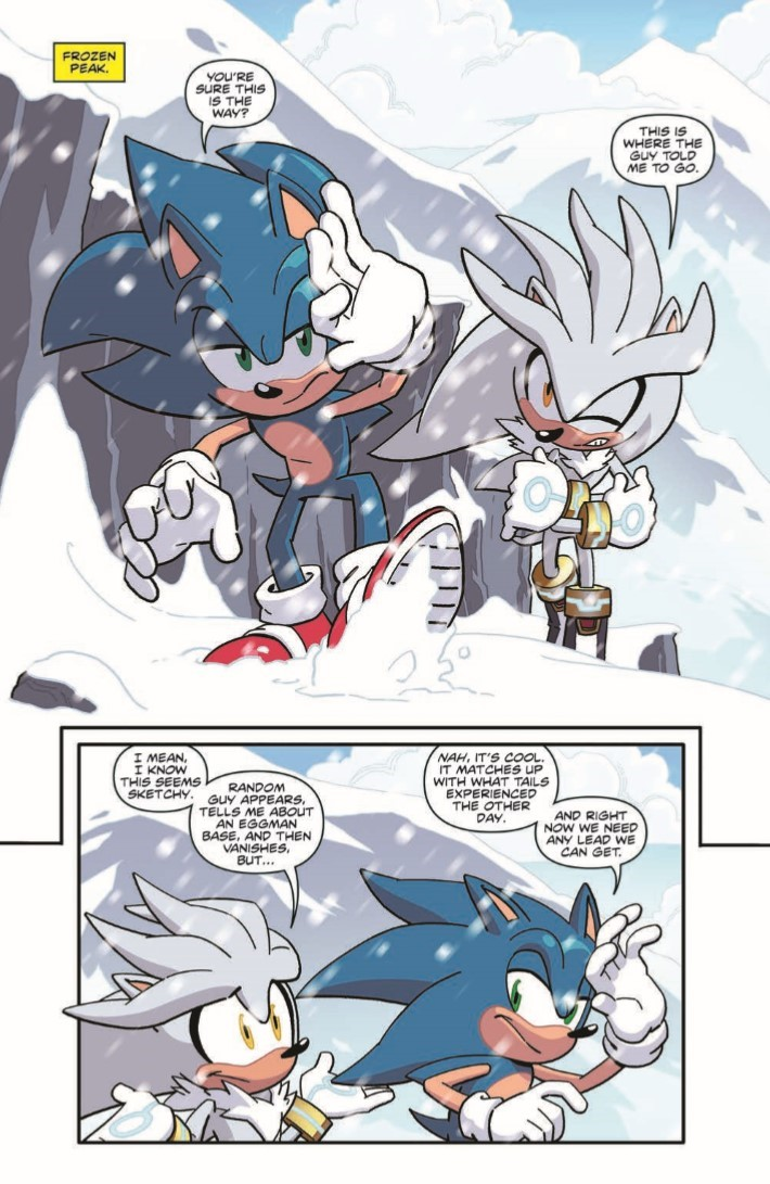 Sonic_14-pr-3 ComicList Previews: SONIC THE HEDGEHOG #14