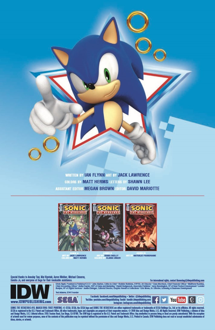 Sonic_15-pr-2 ComicList Previews: SONIC THE HEDGEHOG #15