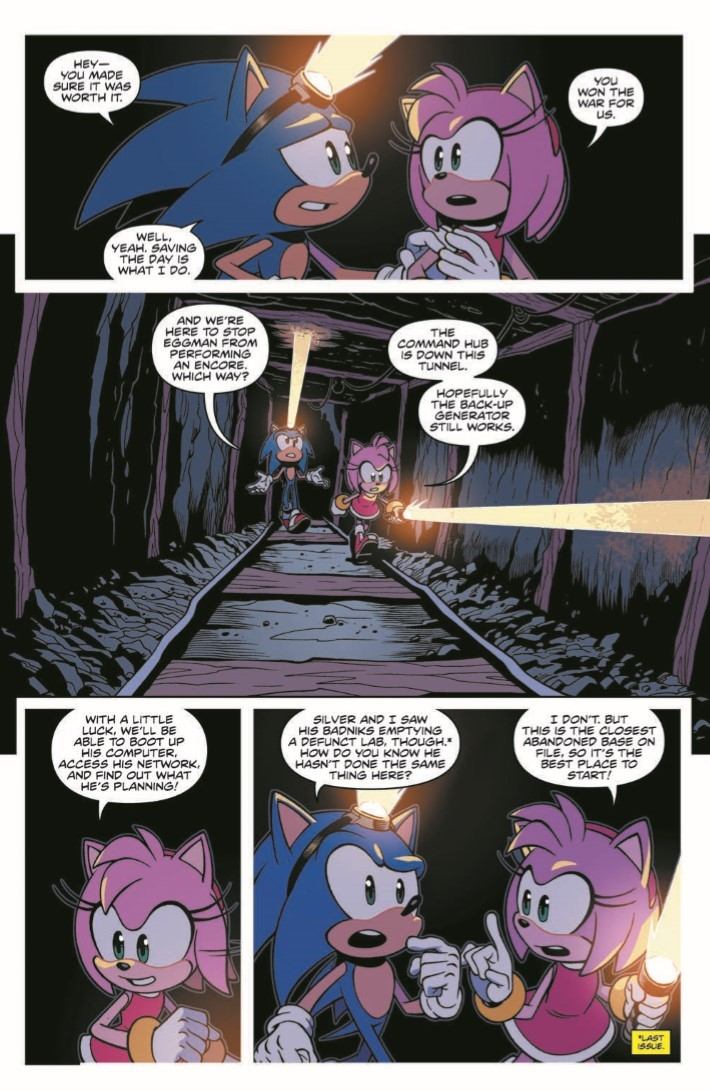 Sonic_15-pr-4 ComicList Previews: SONIC THE HEDGEHOG #15