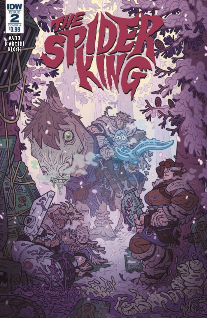 SpiderKing_02-pr-1 ComicList Previews: THE SPIDER KING #2