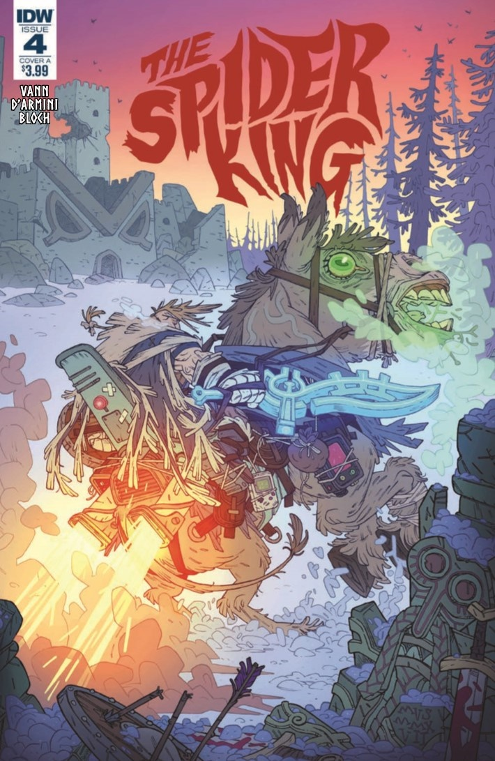 SpiderKing_04-pr-1 ComicList Previews: THE SPIDER KING #4
