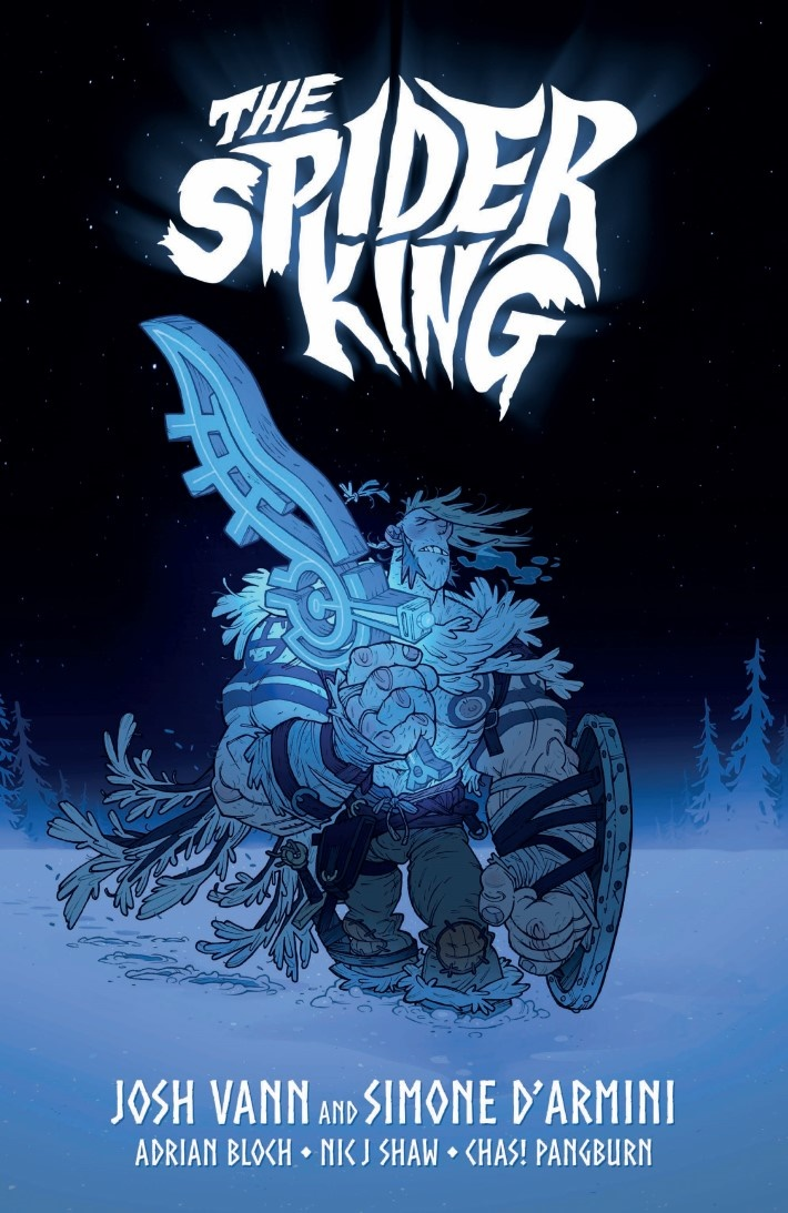 Spider_King_TPB-pr-1 ComicList Previews: THE SPIDER KING TP