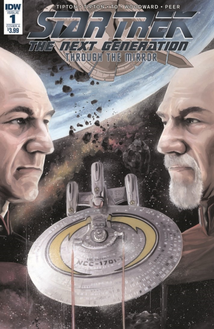 StarTrekTNG_ThroughTheMirror_01-pr-1 ComicList Previews: STAR TREK THE NEXT GENERATION THROUGH THE MIRROR #1