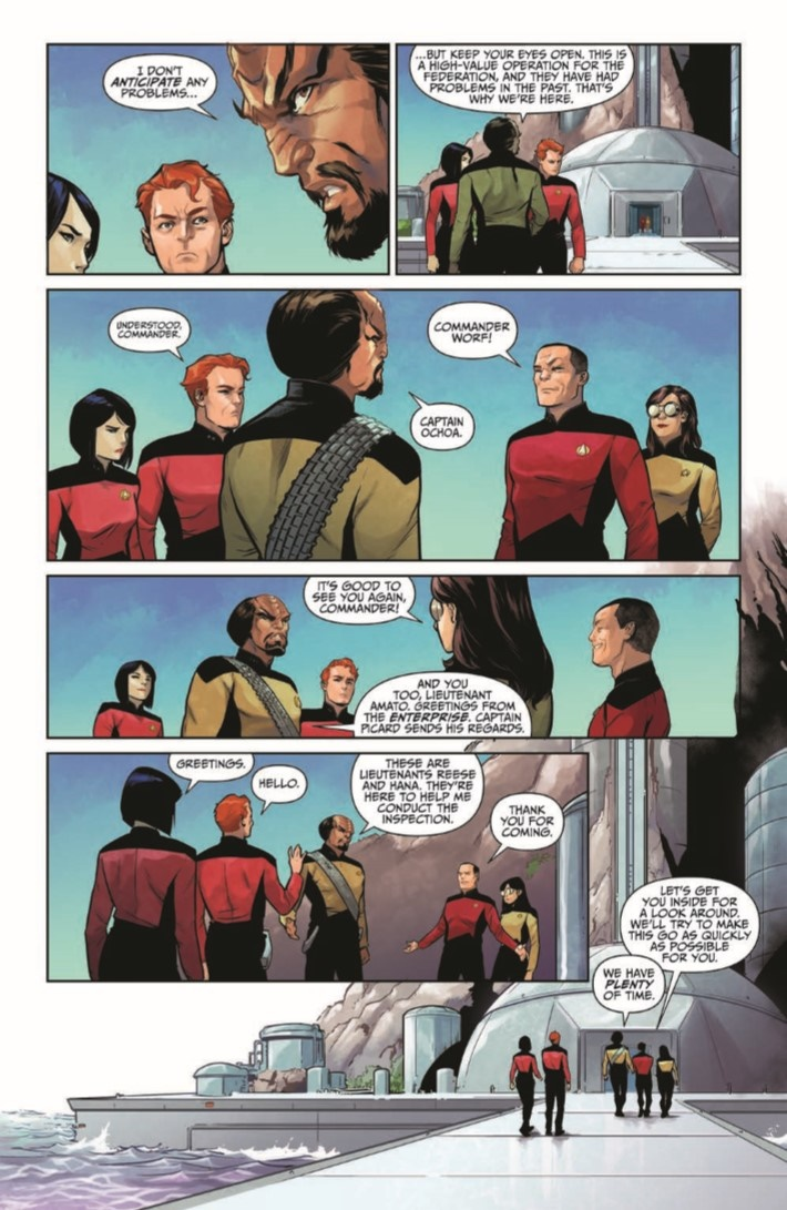 StarTrekTNG_ThroughTheMirror_01-pr-4 ComicList Previews: STAR TREK THE NEXT GENERATION THROUGH THE MIRROR #1
