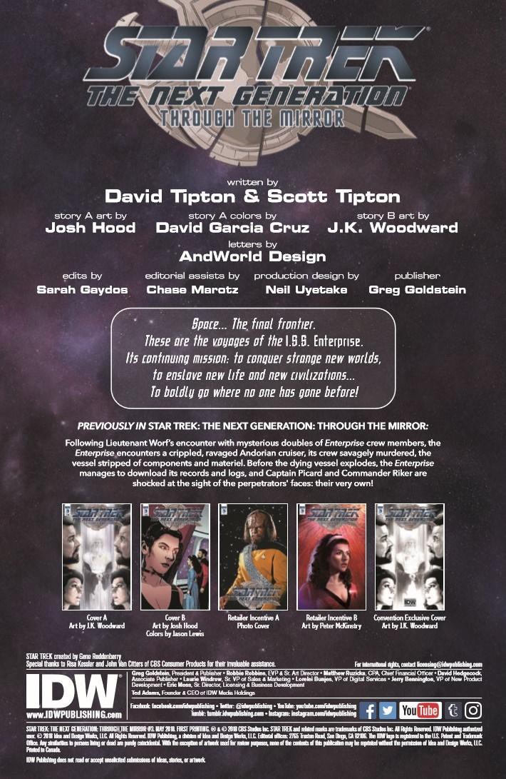 StarTrekTNG_ThroughTheMirror_03-pr-2 ComicList Previews: STAR TREK THE NEXT GENERATION THROUGH THE MIRROR #3