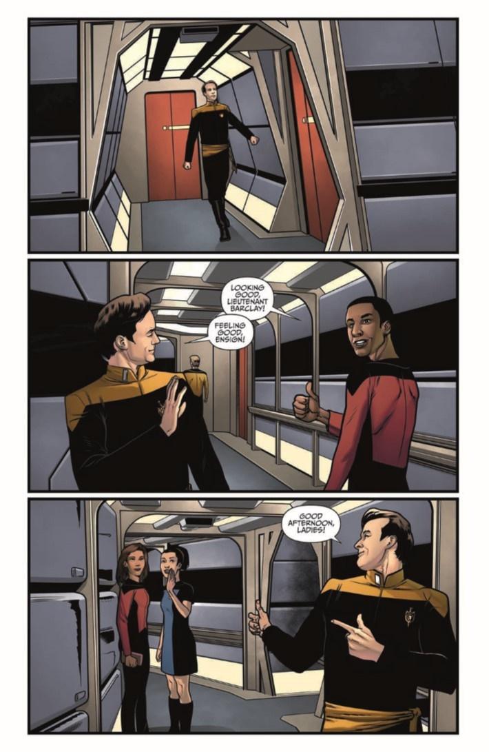 StarTrekTNG_ThroughTheMirror_03-pr-3 ComicList Previews: STAR TREK THE NEXT GENERATION THROUGH THE MIRROR #3