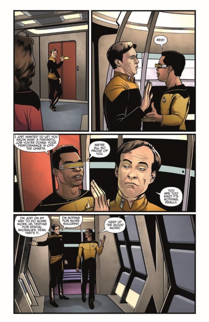 StarTrekTNG_ThroughTheMirror_03-pr-4 ComicList Previews: STAR TREK THE NEXT GENERATION THROUGH THE MIRROR #3