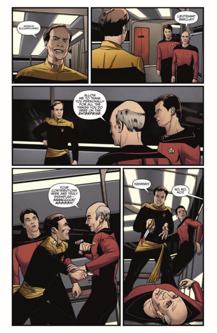StarTrekTNG_ThroughTheMirror_03-pr-6 ComicList Previews: STAR TREK THE NEXT GENERATION THROUGH THE MIRROR #3