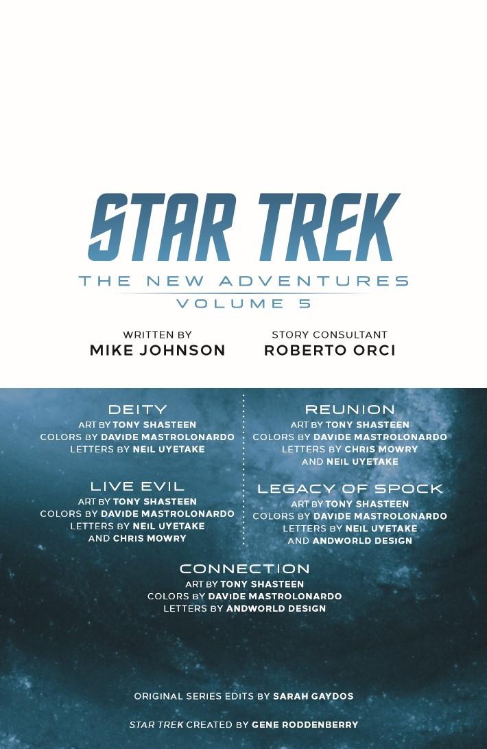 StarTrek_NewAdv_v5-pr-3 ComicList Previews: STAR TREK NEW ADVENTURES VOLUME 5 TP