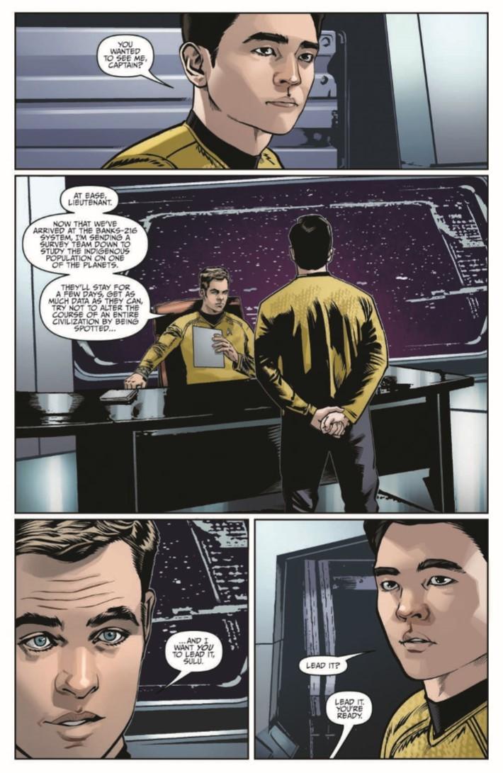 StarTrek_NewAdv_v5-pr-4 ComicList Previews: STAR TREK NEW ADVENTURES VOLUME 5 TP