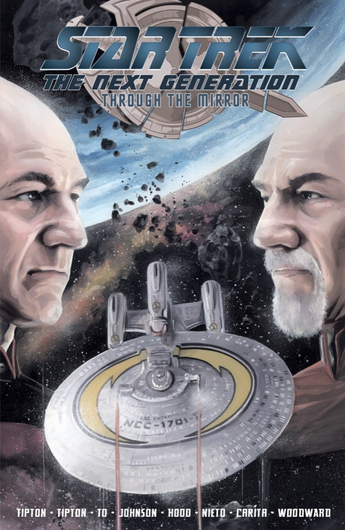 StarTrek_TNG_Through_the_Mirror_TPB-pr-1 ComicList Previews: STAR TREK THE NEXT GENERATION THROUGH THE MIRROR TP