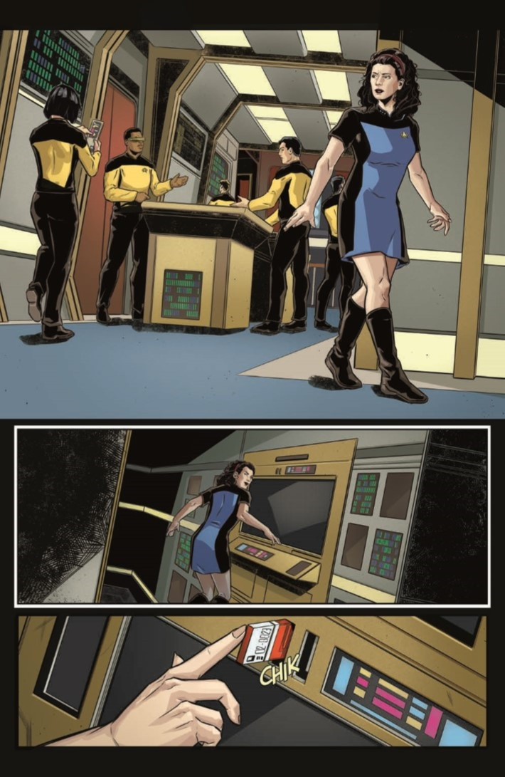 StarTrek_ThroughTheMirror_04-pr-6 ComicList Previews: STAR TREK THE NEXT GENERATION THROUGH THE MIRROR #4