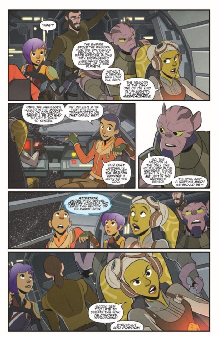 StarWarsAdv_07-pr-5 ComicList Previews: STAR WARS ADVENTURES #7