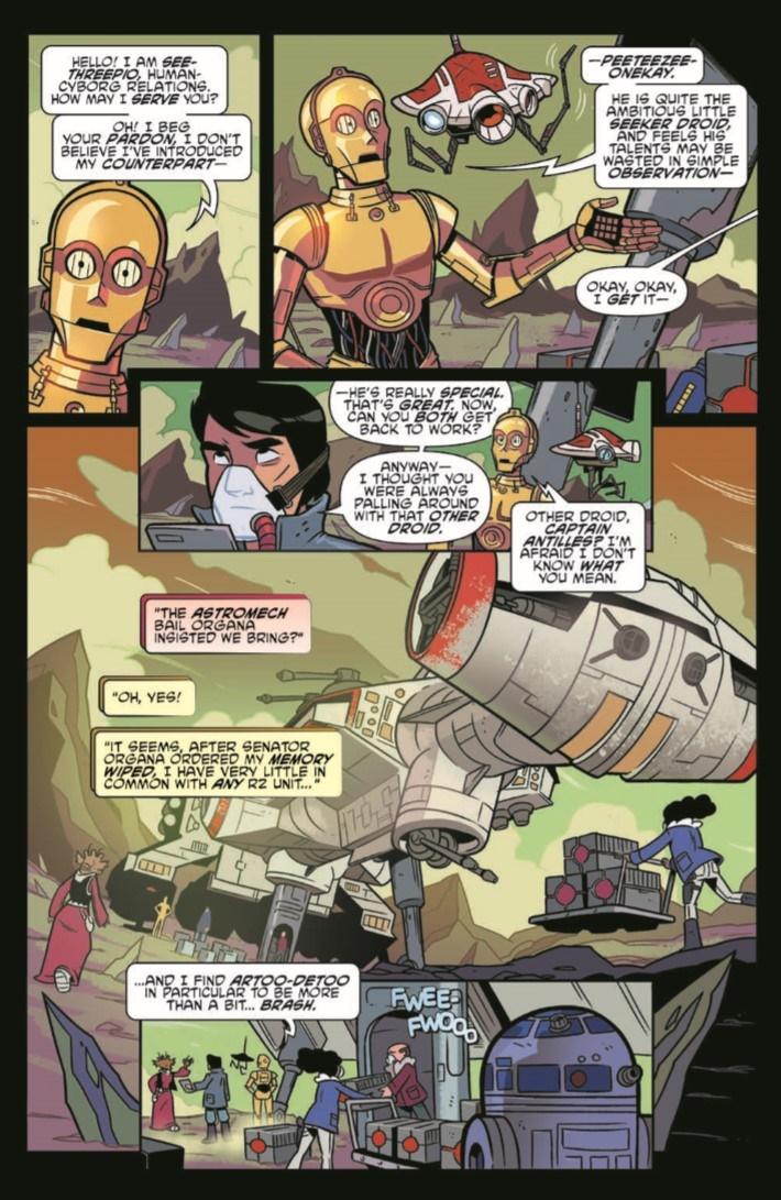 StarWarsAdv_09-pr-3 ComicList Previews: STAR WARS ADVENTURES #9