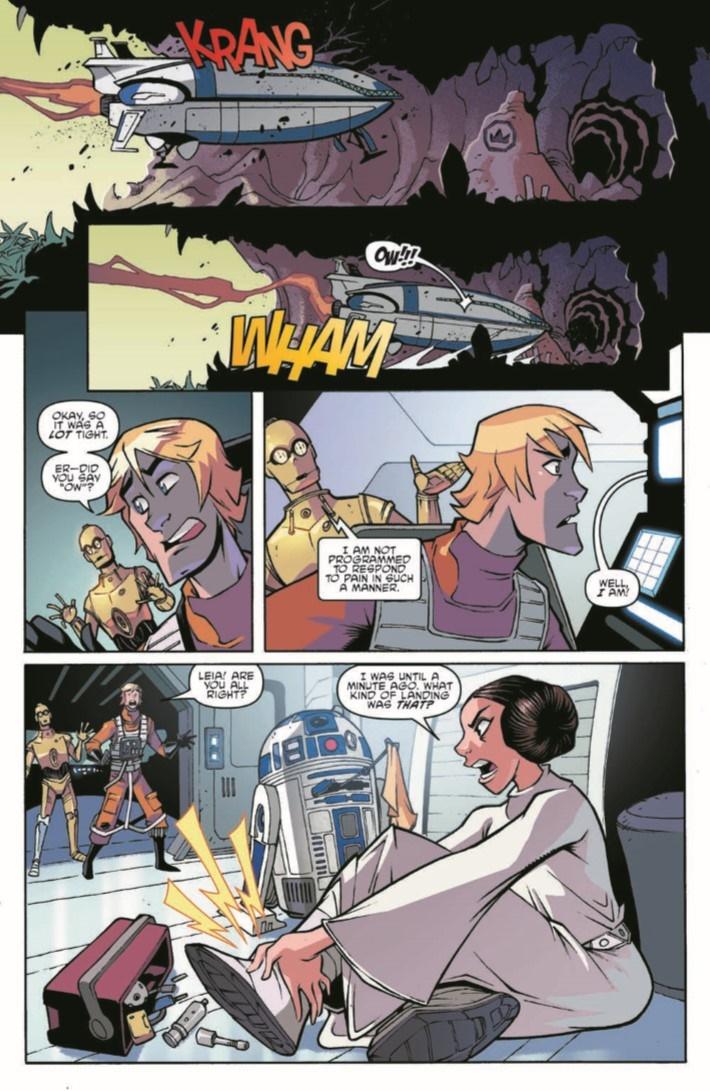 StarWars_Annual_2018-pr-4 ComicList Previews: STAR WARS ADVENTURES ANNUAL 2018