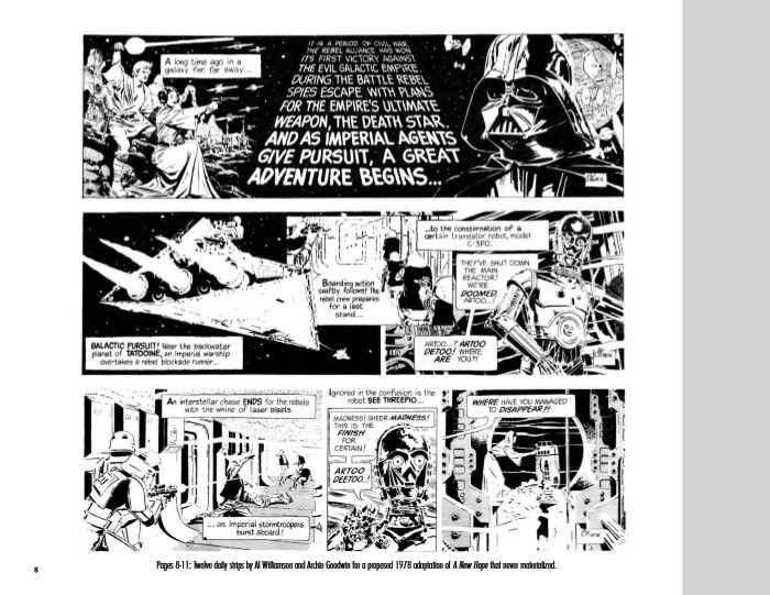 StarWars_Newspaper_v2-pr-4 ComicList Previews: STAR WARS THE CLASSIC NEWSPAPER COMICS VOLUME 2 HC