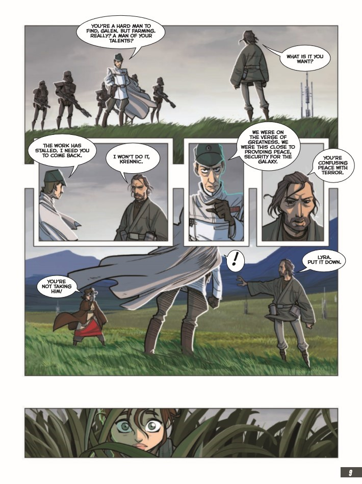 StarWars_RogueOne-pr-5 ComicList Previews: STAR WARS ROGUE ONE GN