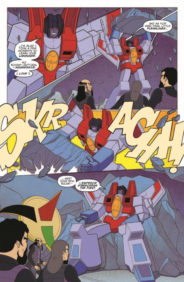Star_Trek_Transformers_05-pr-6 ComicList Previews: STAR TREK VS TRANSFORMERS #5
