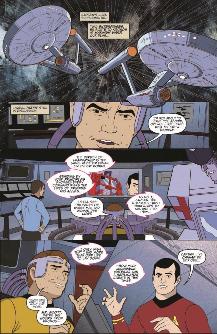 Star_Trek_Transformers_05-pr-7 ComicList Previews: STAR TREK VS TRANSFORMERS #5