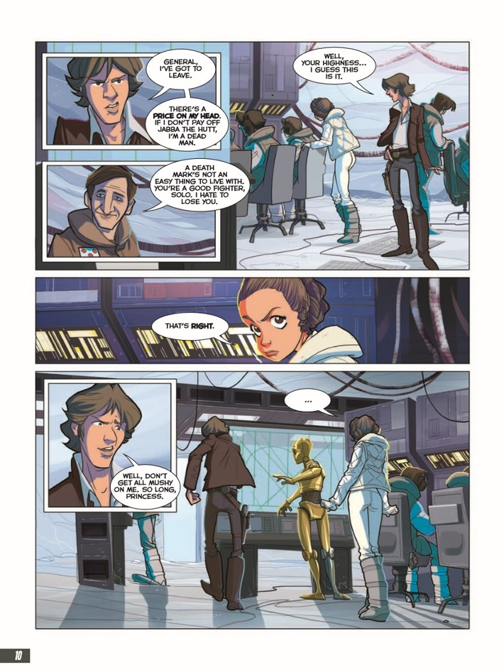 Star_wars_Empire_Strikes_Back_Graphic_Novel-pr-6 ComicList Previews: STAR WARS THE EMPIRE THE STRIKES BACK GN