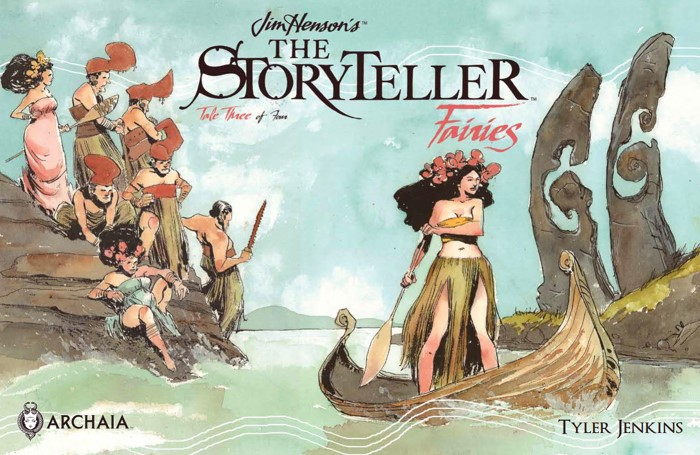 Storyteller_Fairies_003_PRESS_1 ComicList Previews: JIM HENSON'S THE STORYTELLER FAIRIES #3