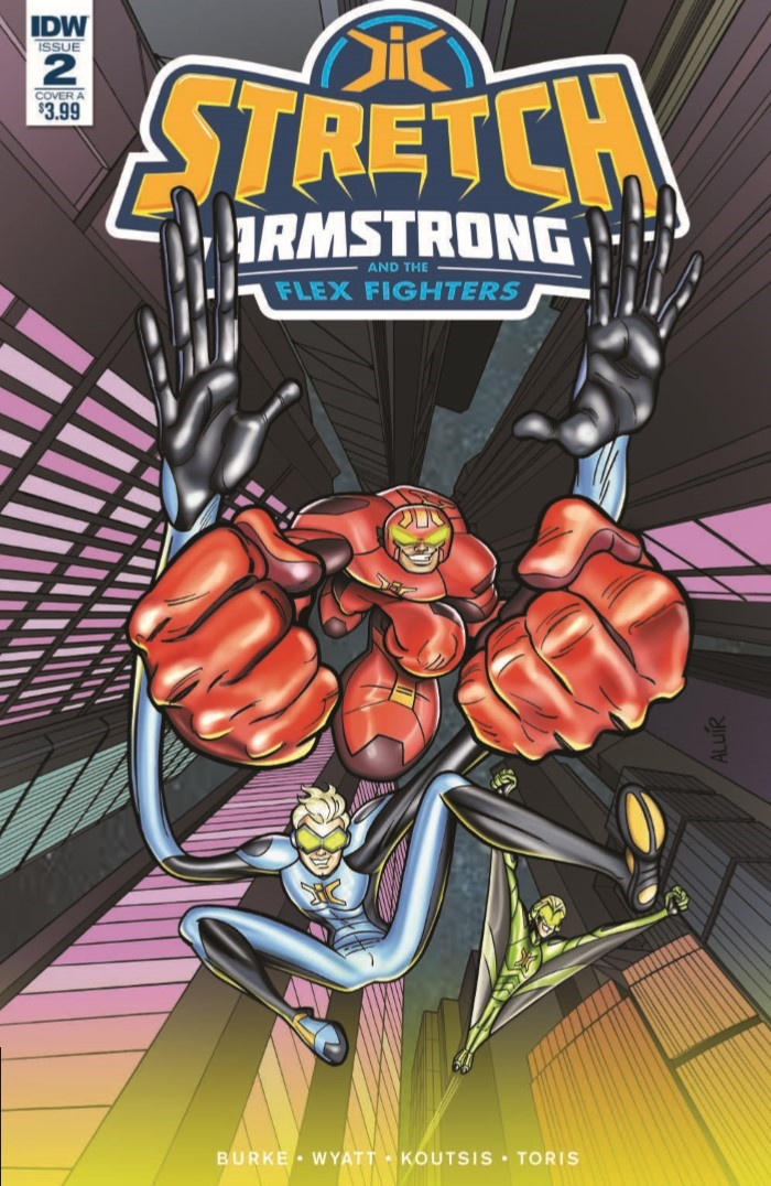 StretchArmstrong_02-pr-1 ComicList Previews: STRETCH ARMSTRONG AND THE FLEX FIGHTERS #2