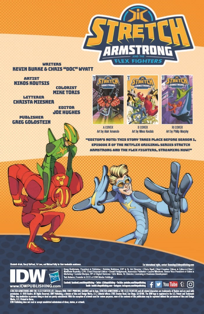 StretchArmstrong_02-pr-2 ComicList Previews: STRETCH ARMSTRONG AND THE FLEX FIGHTERS #2