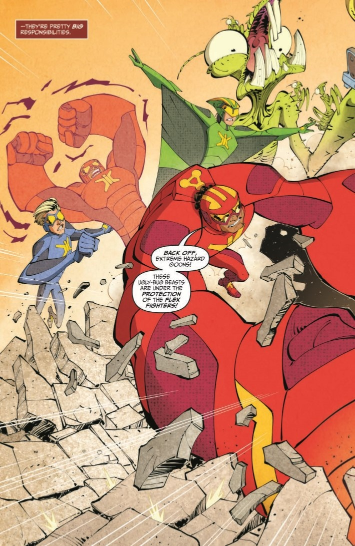 StretchArmstrong_03-pr-4 ComicList Previews: STRETCH ARMSTRONG AND THE FLEX FIGHTERS #3