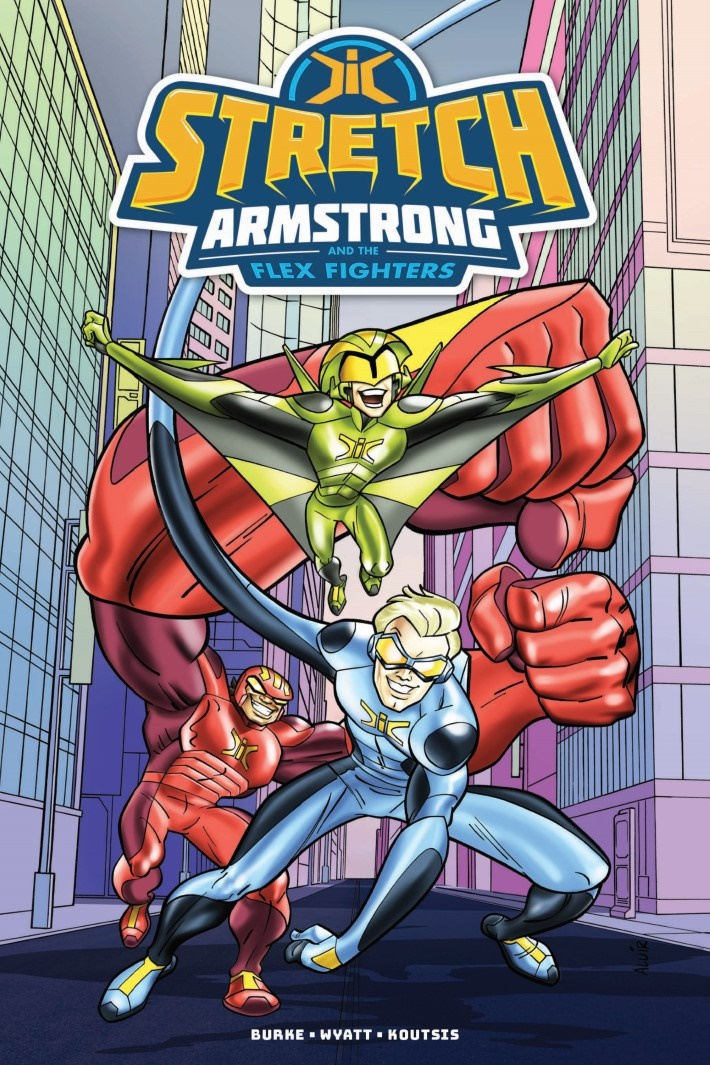 StretchArmstrong_TPB-pr-1 ComicList Previews: STRETCH ARMSTRONG AND THE FLEX FIGHTERS TP