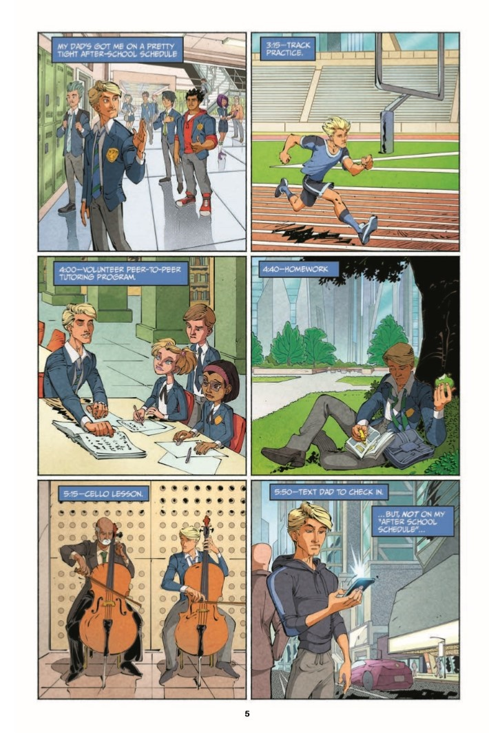 StretchArmstrong_TPB-pr-4 ComicList Previews: STRETCH ARMSTRONG AND THE FLEX FIGHTERS TP