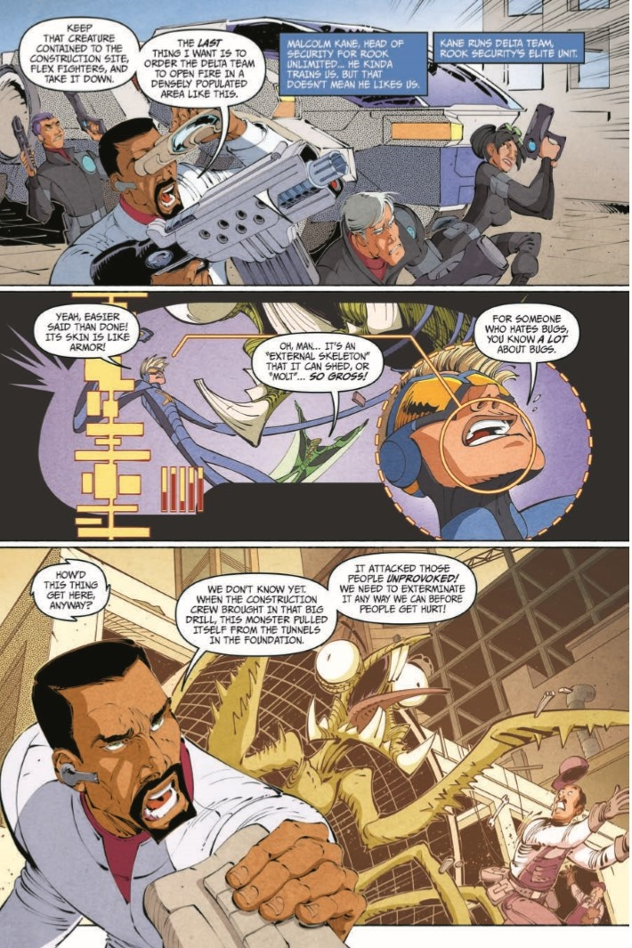 StretchArmstrong_TPB-pr-7 ComicList Previews: STRETCH ARMSTRONG AND THE FLEX FIGHTERS TP