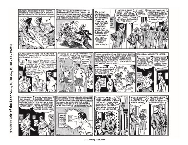 Superman_GolDailies1942-pr-3 ComicList Preview: SUPERMAN THE GOLDEN AGE NEWSPAPER DAILIES 1942-1944 HC