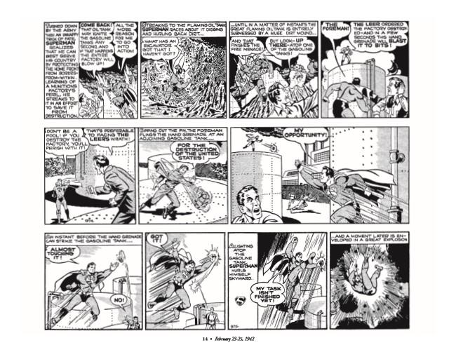 Superman_GolDailies1942-pr-5 ComicList Preview: SUPERMAN THE GOLDEN AGE NEWSPAPER DAILIES 1942-1944 HC