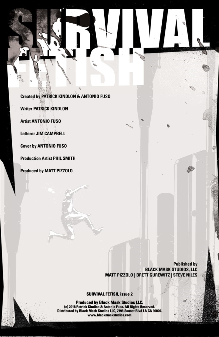 SurvivalFetish-02-02 ComicList Previews: SURVIVAL FETISH #2