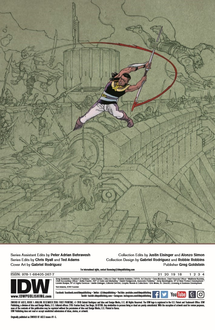 Sword_Of_Ages_HC-pr-2 ComicList Previews: SWORD OF AGES HC