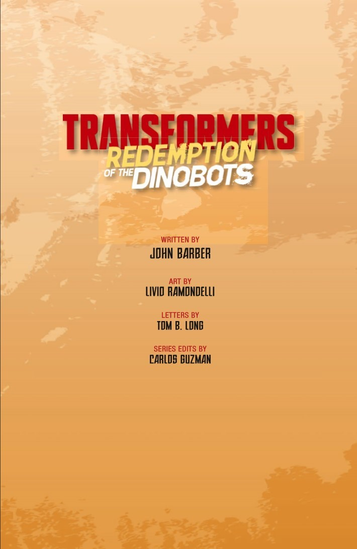 TF_RedemptionDinobots-pr-3 ComicList Previews: TRANSFORMERS REDEMPTION OF THE DINOBOTS TP
