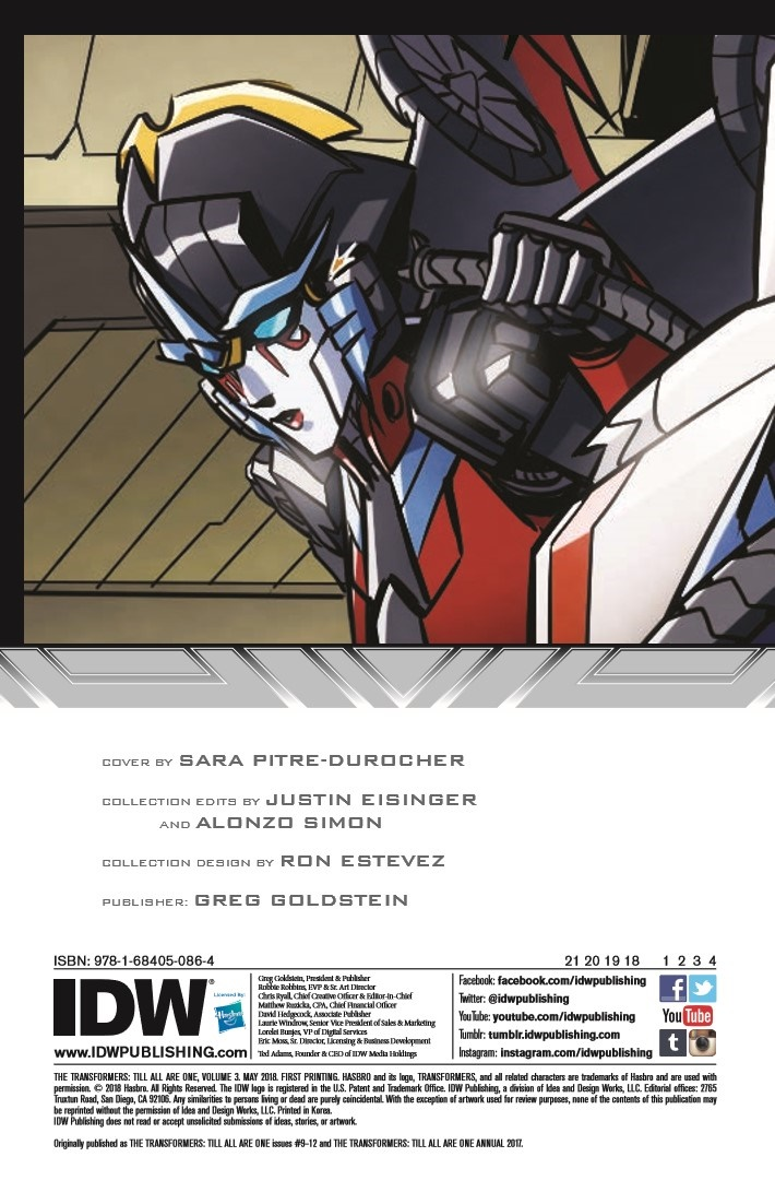 TF_TilAllAreOne_v3-pr-2 ComicList Previews: TRANSFORMERS TILL ALL ARE ONE VOLUME 3 TP