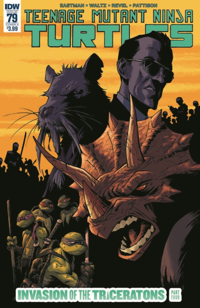 TMNT_79-pr-1 ComicList Previews: TEENAGE MUTANT NINJA TURTLES #79