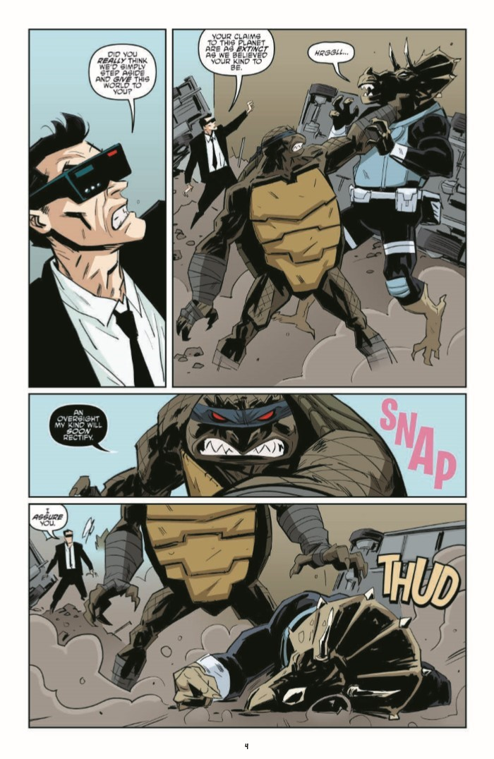 TMNT_79-pr-6 ComicList Previews: TEENAGE MUTANT NINJA TURTLES #79