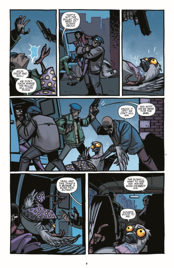 TMNT_IDWColl_v6-pr-7 ComicList Previews: TEENAGE MUTANT NINJA TURTLES THE IDW COLLECTION VOLUME 6 HC