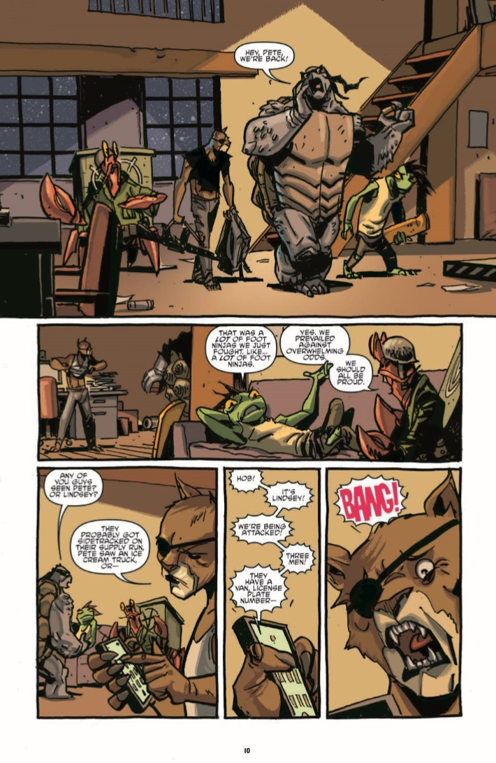 TMNT_IDWColl_v6-pr-8 ComicList Previews: TEENAGE MUTANT NINJA TURTLES THE IDW COLLECTION VOLUME 6 HC