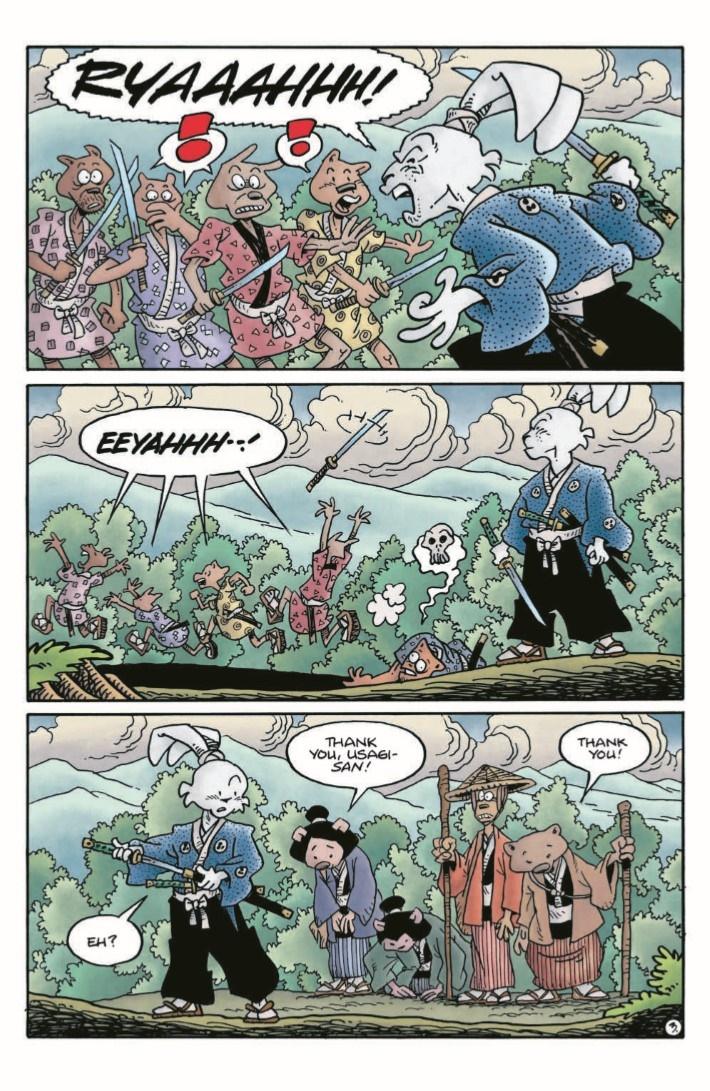 TMNT_Usagi_Expanded-pr-6 ComicList Previews: TEENAGE MUTANT NINJA TURTLES USAGI YOJIMBO HC (EXPANDED EDITION)