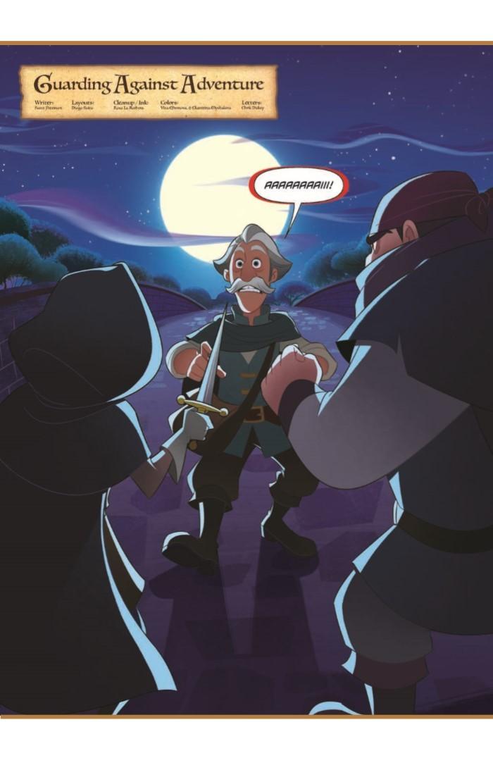 Tangled_01-pr-3 ComicList Previews: TANGLED #1