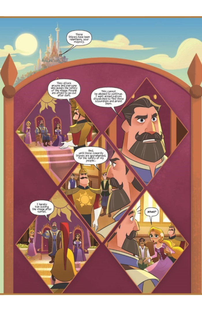 Tangled_01-pr-5 ComicList Previews: TANGLED #1