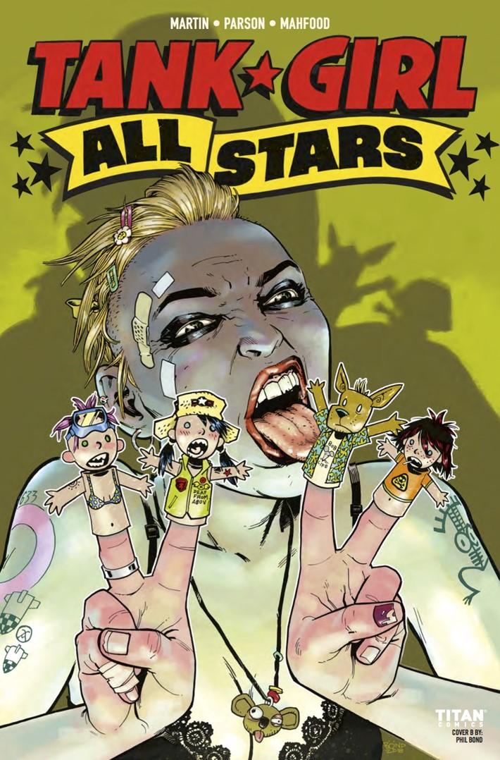 Tank_Girl_All_Stars_3_cB ComicList Previews: TANK GIRL ALL STARS #3