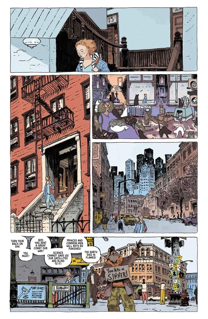 TheUnsound_SC_PRESS_10 ComicList Previews: THE UNSOUND GN