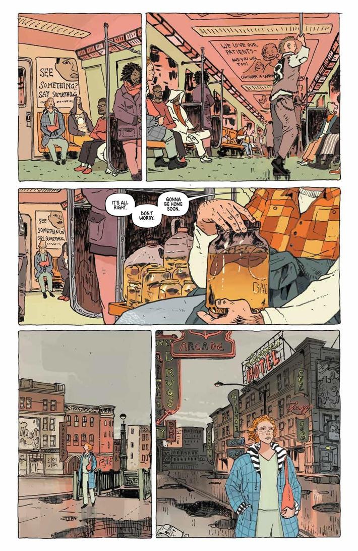 TheUnsound_SC_PRESS_11 ComicList Previews: THE UNSOUND GN