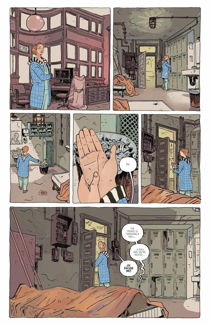 TheUnsound_SC_PRESS_16 ComicList Previews: THE UNSOUND GN
