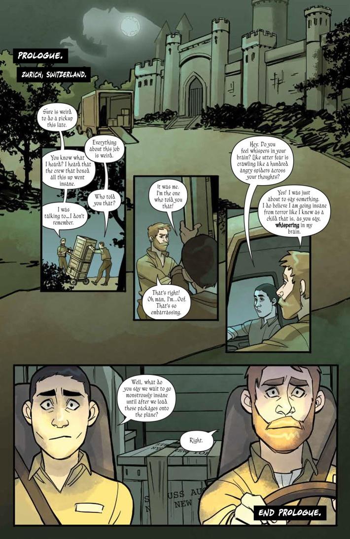 ThrillingAdventureHour_001_PRESS_3 ComicList Previews: THE THRILLING ADVENTURE HOUR #1